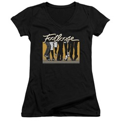 Footloose - Womens Dance Party V-Neck T-Shirt