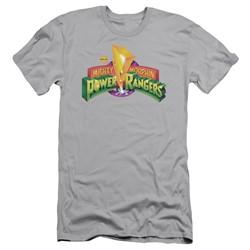 Power Rangers - Mens Mmpr Logo Slim Fit T-Shirt