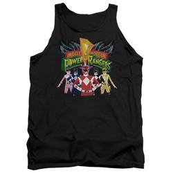 Power Rangers - Mens Rangers Unite Tank Top