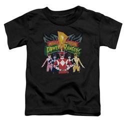 Power Rangers - Toddlers Rangers Unite T-Shirt