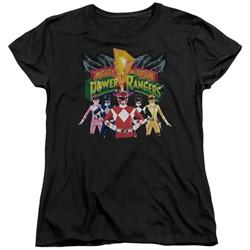 Power Rangers - Womens Rangers Unite T-Shirt