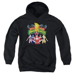 Power Rangers - Youth Rangers Unite Pullover Hoodie