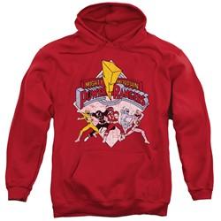 Power Rangers - Mens Retro Rangers Pullover Hoodie