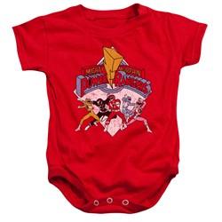 Power Rangers - Toddler Retro Rangers Onesie