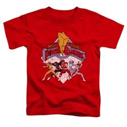 Power Rangers - Toddlers Retro Rangers T-Shirt