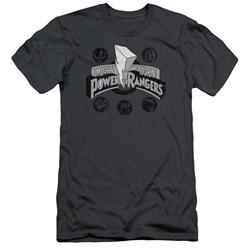 Power Rangers - Mens Power Coins Slim Fit T-Shirt