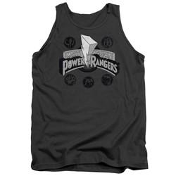 Power Rangers - Mens Power Coins Tank Top