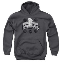 Power Rangers - Youth Power Coins Pullover Hoodie