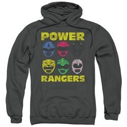 Power Rangers - Mens Ranger Heads Pullover Hoodie