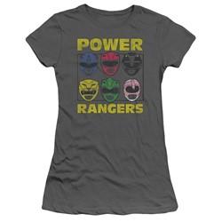 Power Rangers - Womens Ranger Heads T-Shirt