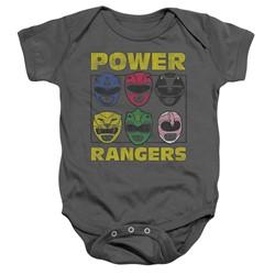 Power Rangers - Toddler Ranger Heads Onesie