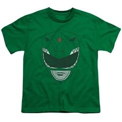 Power Rangers - Big Boys Green Ranger T-Shirt