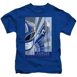 Power Rangers - Little Boys Blue Ranger Deco T-Shirt