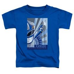 Power Rangers - Toddlers Blue Ranger Deco T-Shirt