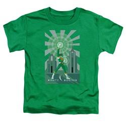 Power Rangers - Toddlers Green Ranger Deco T-Shirt