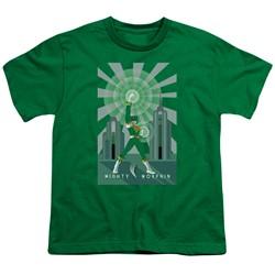 Power Rangers - Big Boys Green Ranger Deco T-Shirt
