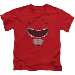 Power Rangers - Little Boys Red Ranger Mask T-Shirt