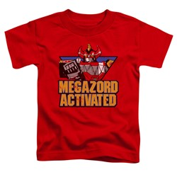 Power Rangers - Toddlers Megazord Activated T-Shirt