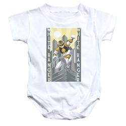 Power Rangers - Toddler White Ranger Deco Onesie