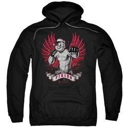 Popeye - Mens Undefeated Pullover Hoodie