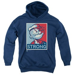 Popeye - Youth Strong Pullover Hoodie