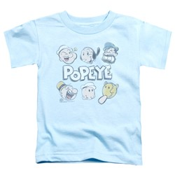Popeye - Toddlers Heads Up T-Shirt