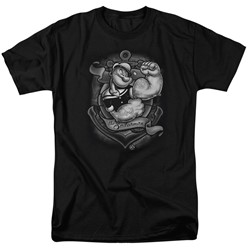 Popeye - Mens Anchors Away T-Shirt