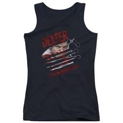 Dexter - Juniors Blood Never Lies Tank Top