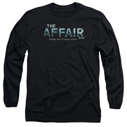The Affair - Mens Ocean Logo Long Sleeve T-Shirt