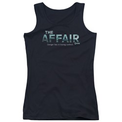 The Affair - Juniors Ocean Logo Tank Top