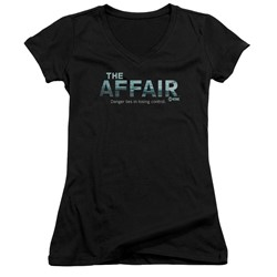 The Affair - Womens Ocean Logo V-Neck T-Shirt