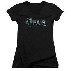 The Affair - Womens Ocean Logo V-Neck T-Shirt