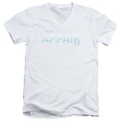 The Affair - Mens Logo V-Neck T-Shirt