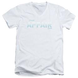 The Affair - Mens Logo V-Neck T-Shirt