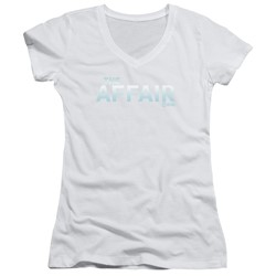 The Affair - Womens Logo V-Neck T-Shirt