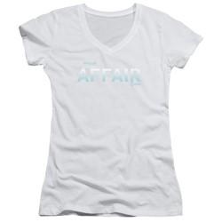 The Affair - Womens Logo V-Neck T-Shirt