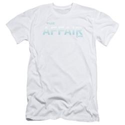 The Affair - Mens Logo Slim Fit T-Shirt