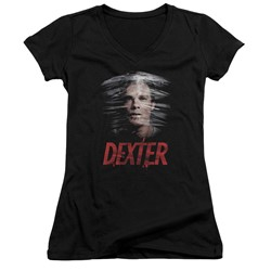 Dexter - Womens Plastic Wrap V-Neck T-Shirt