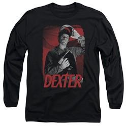 Dexter - Mens See Saw Long Sleeve T-Shirt