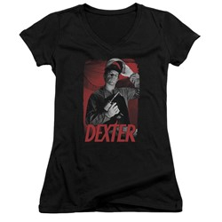 Dexter - Womens See Saw V-Neck T-Shirt