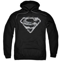 Superman - Mens Smoking Shield Pullover Hoodie