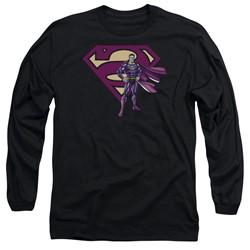 Superman - Mens Bizarro & Logo Long Sleeve T-Shirt