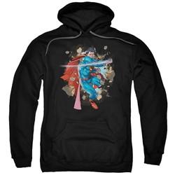 Superman - Mens Rock Breaker Pullover Hoodie