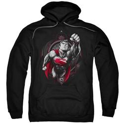 Superman - Mens Propaganda Superman Pullover Hoodie