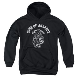 Sons Of Anarchy - Youth Soa Reaper Pullover Hoodie