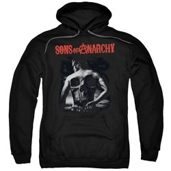 Sons Of Anarchy - Mens Skull Back Pullover Hoodie