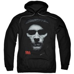 Sons Of Anarchy - Mens Skull Face Pullover Hoodie