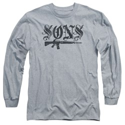 Sons Of Anarchy - Mens Worn Son Long Sleeve T-Shirt