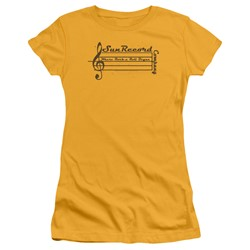 Sun Records - Womens Music Staff T-Shirt