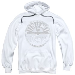 Sun Records - Mens Crusty Logo Pullover Hoodie